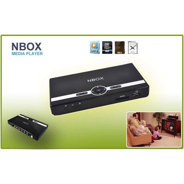NBOX V3 DivX USB HDMI 1080P HD MEDIA PLAYER HDD MKV H264 ...