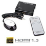 3-Port HDMI Audio Video Switch 1080P Splitter+Remote