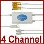 4 Channel USB 2.0 Video Capture Grabber Quad DVR CCTV