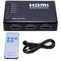 5 PORT HDMI Switch Switcher Selector Hub + Remote 1080p