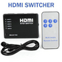 5 PORT HDMI SWITCH SWITCHER SPLITTER HDTV 1080P PS3 1.3