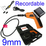 9mm flexible borescope Endoscope Inspection Camera DVR