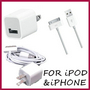 AC Wall Charger+USB Sync Data Cable For iPhone 4 4G 4th