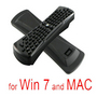 Black 2.4GHz PC Wireless Fly Air Mouse Keyboard Key