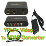 Component YPbPr Video Audio AV to HDMI Converter +Cable