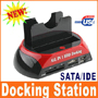 IDE SATA HDD HARD DRIVE DOCK STATION USB HUB READER