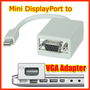 New Mini DisplayPort to VGA Adapter for Apple MacBook