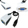 NEW USB 2.0 to VGA Adapter AV620 for Windows 7 XP Vista
