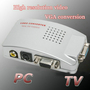 PC VGA to TV AV Rca Adapter Converter Video Switch Box
