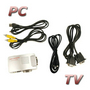 PC VGA to TV S-Video Signal Converter Box Fit PC Notebook