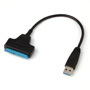 USB3.0 to SATA 22Pin Data Power Cable Adapter for 2.5inch HDD Hard Disk Driver