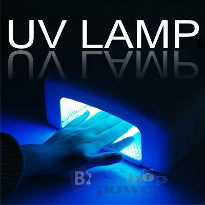 36w uv gel nail curing lamp light tube art. Black Bedroom Furniture Sets. Home Design Ideas