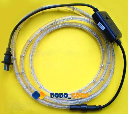 6.6 Feet Flexible White LED Rope Light Ceilings Partys