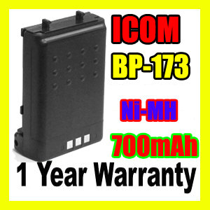 ICOM BP-173,ICOM BP-173 Two Way Radio Battery
