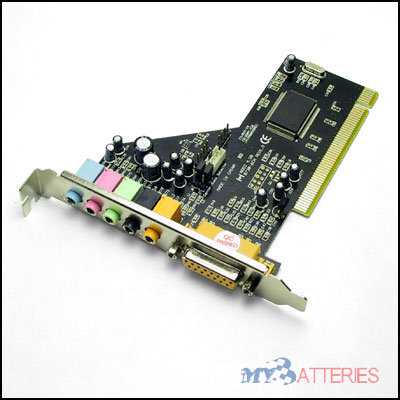 Our top quality 6 Channel 5.1 PCI 3D Surround Sound Card are based on years